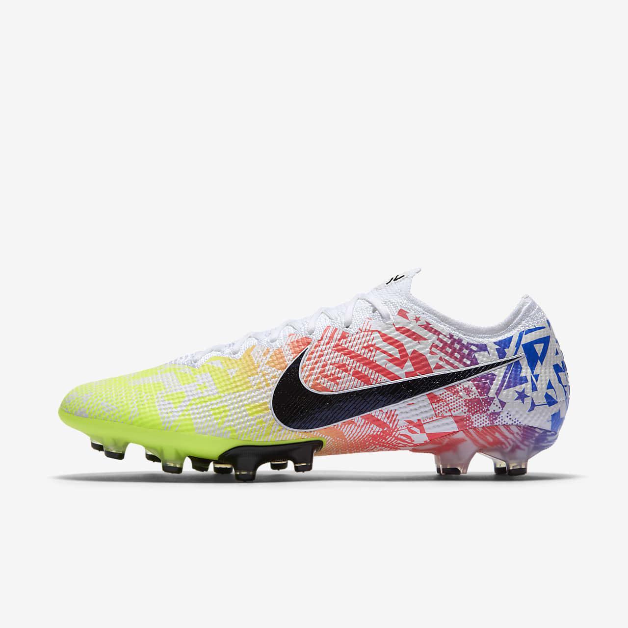 Chaussure de football à crampons pour terrain synthétique Nike Mercurial Vapor 13 Elite Neymar Jr. AG-PRO
