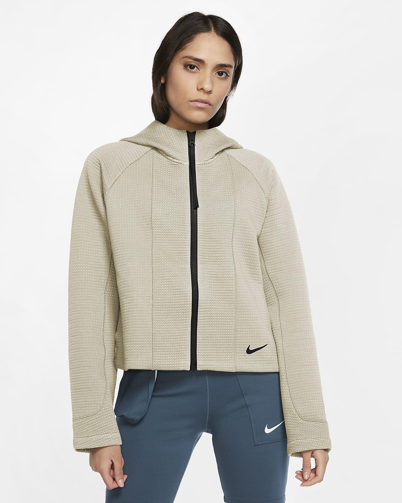 Sudadera con capucha de cierre completo diseñada para mujer Nike Sportswear Tech Fleece