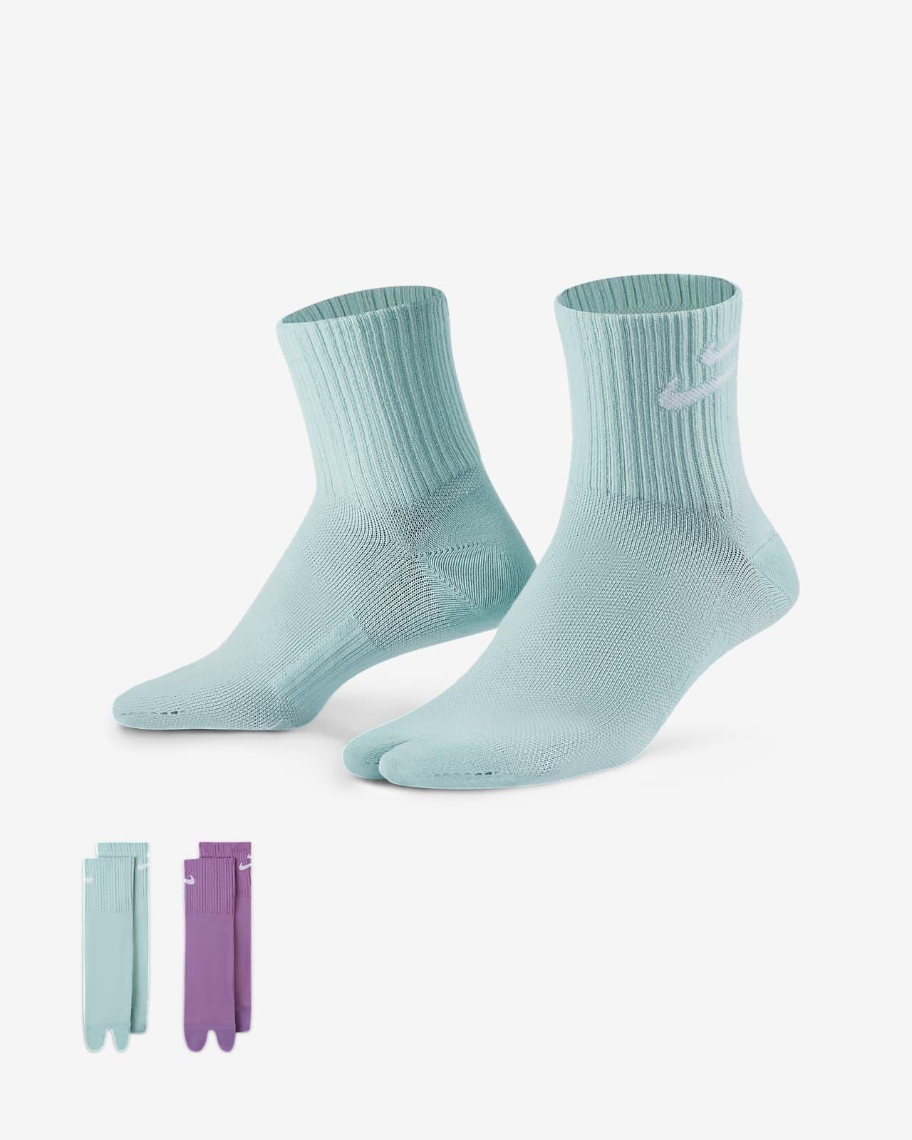 Nike 萬用過踝襪 (2 雙)