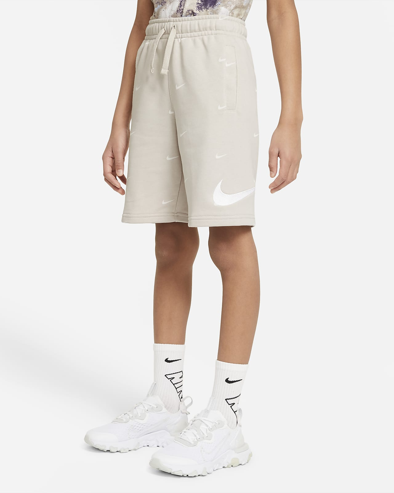 Nike Sportswear Swoosh Older Kids' (Boys') French Terry Shorts