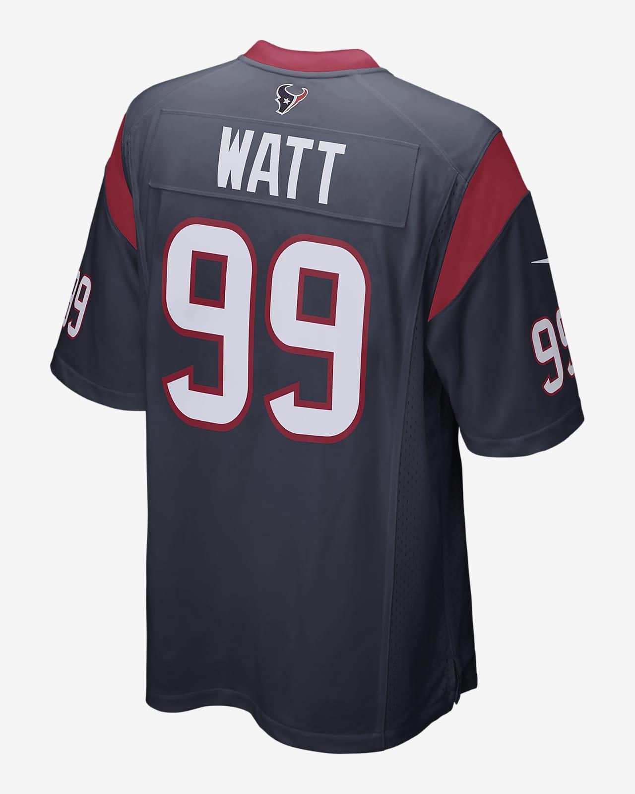 NFL Houston Texans (J.J. Watt) Men's Game Football Jersey