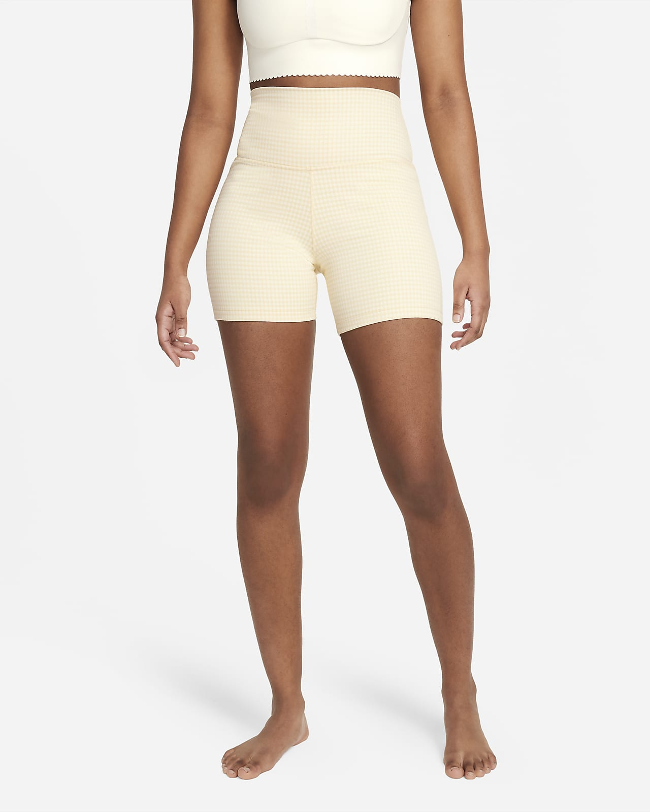 Nike Yoga Women's Gingham Shorts