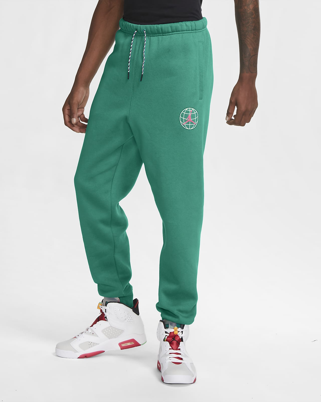 Pantalones de tejido Fleece para hombre Jordan Winter Utility