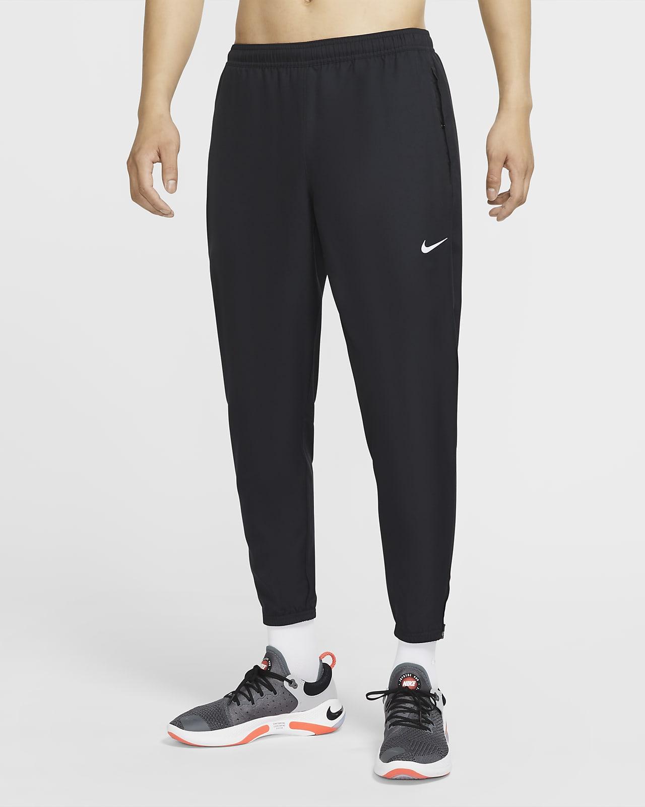 กางเกงวิ่งขายาวผู้ชายแบบทอ Nike Essential