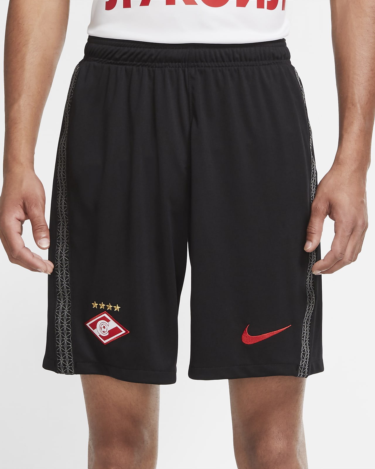 Spartak Moscow 2020/21 Stadium Home/Away Men's Football Shorts