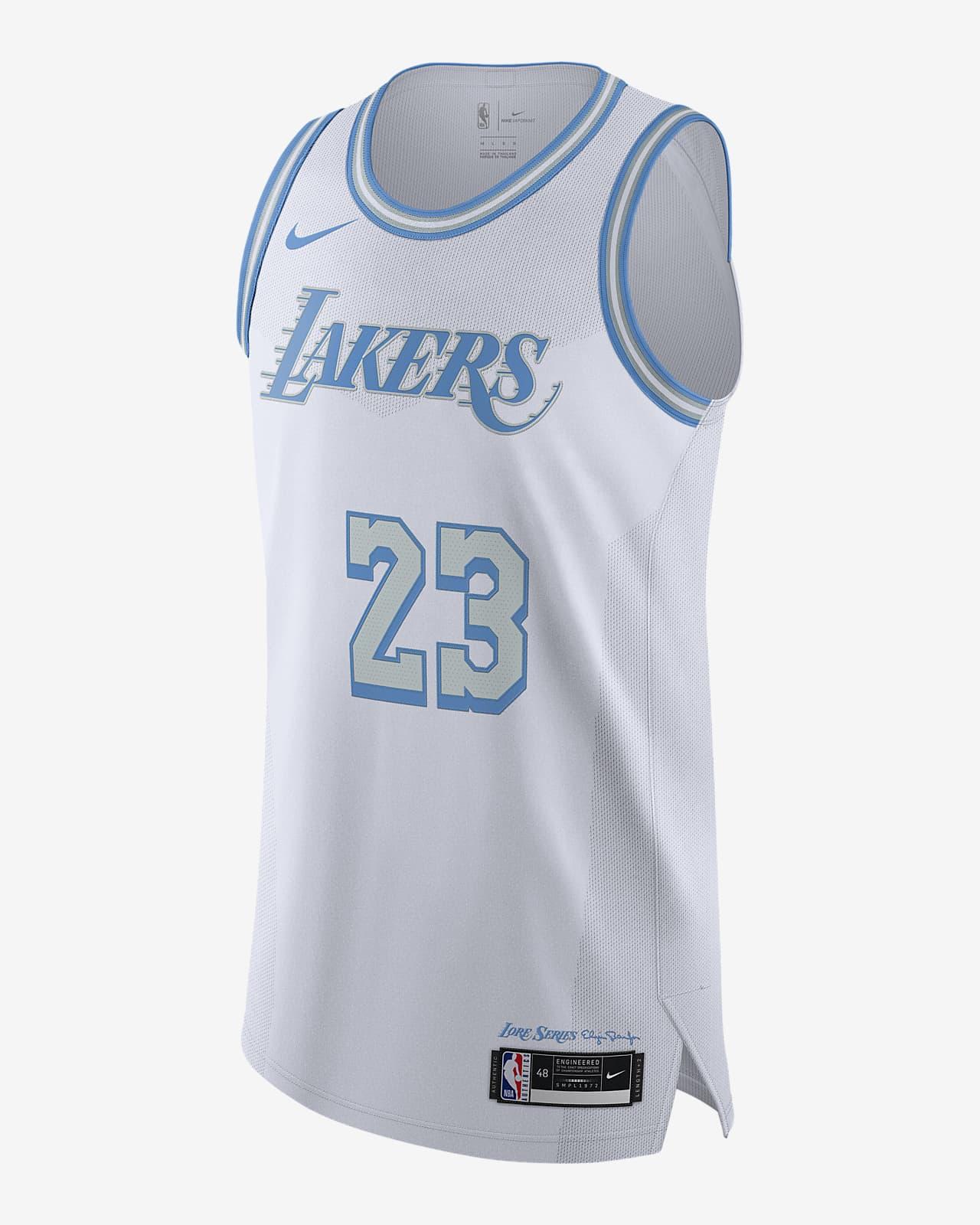 Джерси Nike НБА Authentic Los Angeles Lakers City Edition