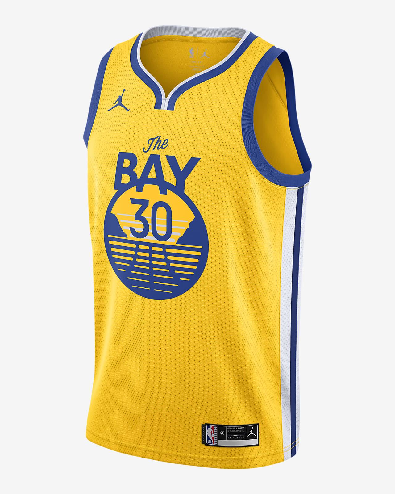 Camisola NBA da Jordan Swingman Stephen Curry Warriors Statement Edition 2020