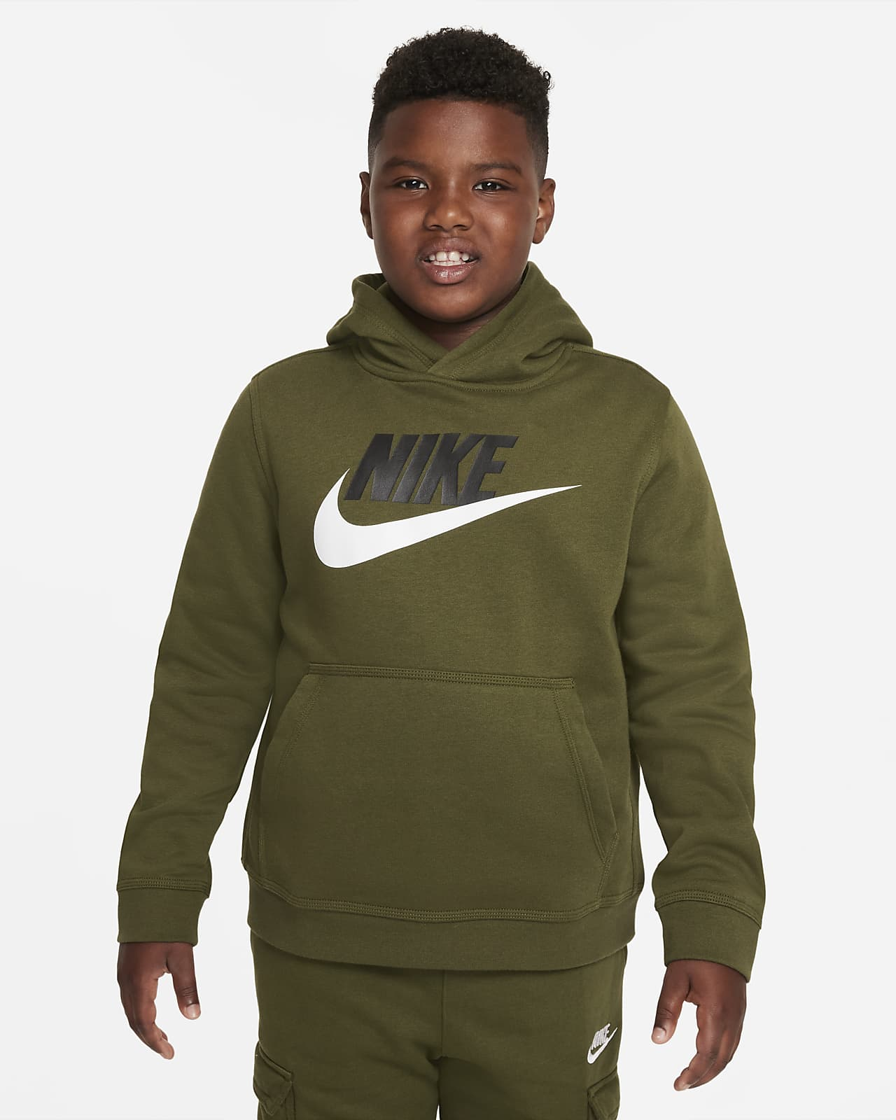 Nike Sportswear Club Fleece Dessuadora amb caputxa (talles grans) - Nen