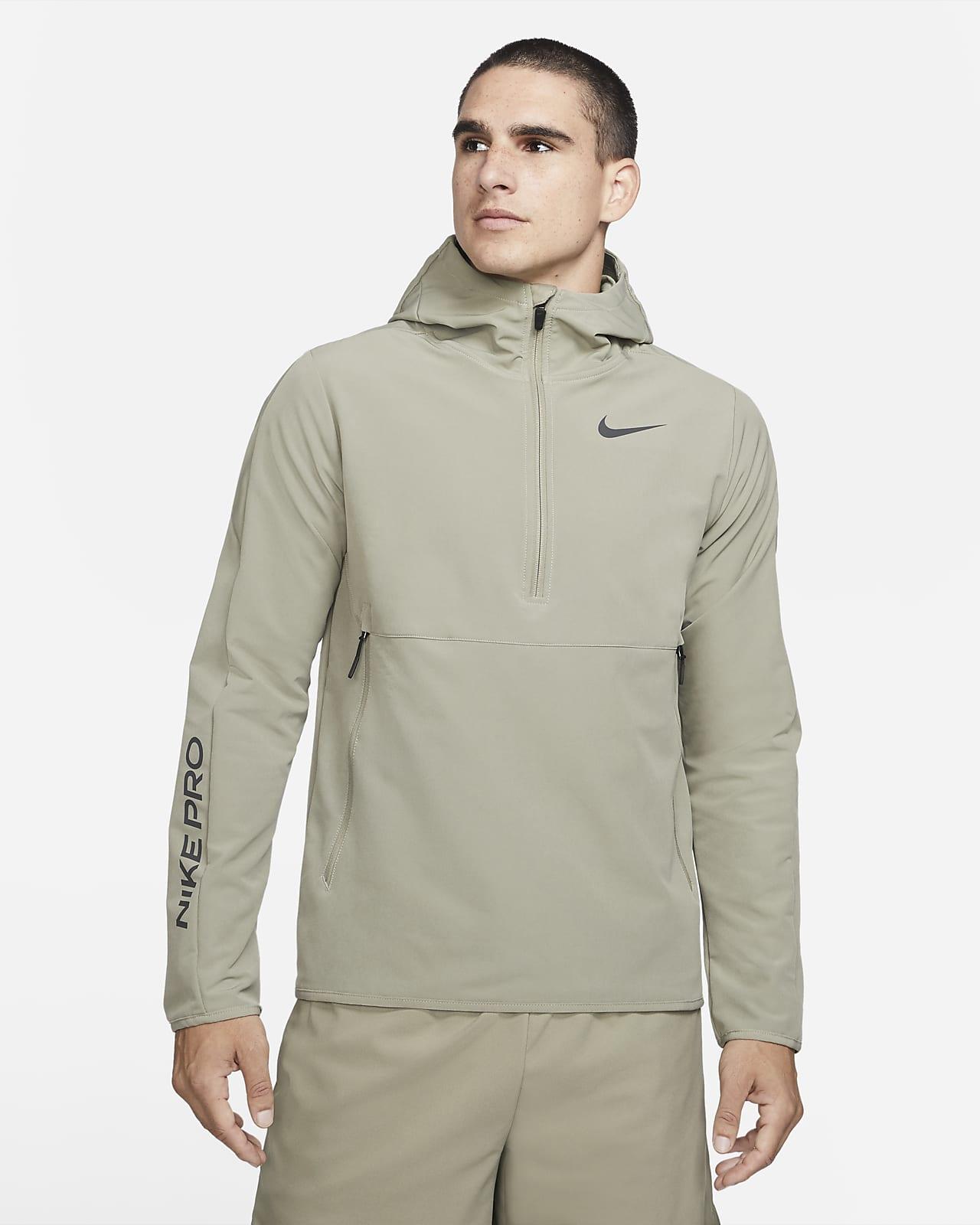 Sweat à capuche à 1/4 de zip Nike Pro pour Homme