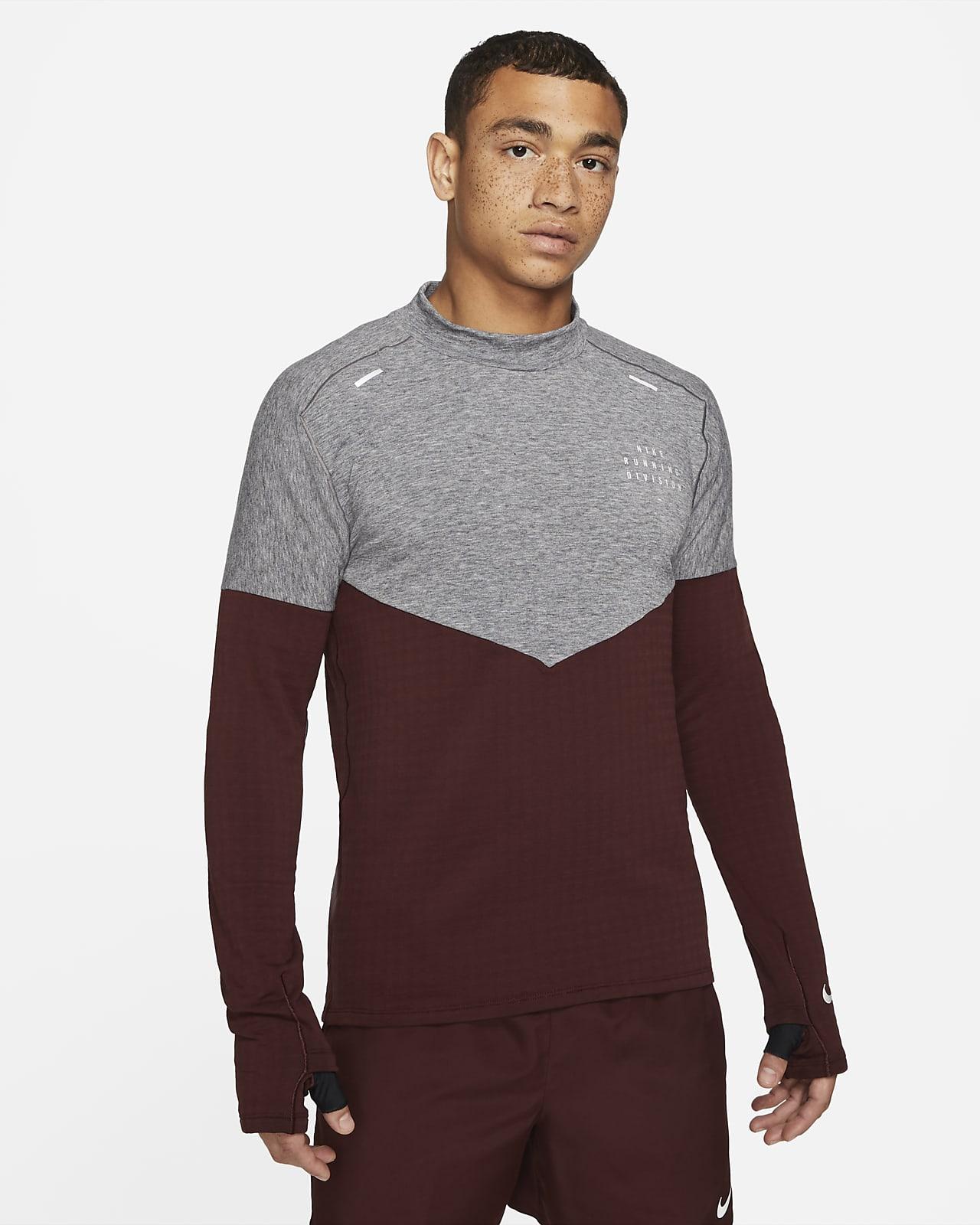 Löpartröja i ull Nike Sphere Run Division för män
