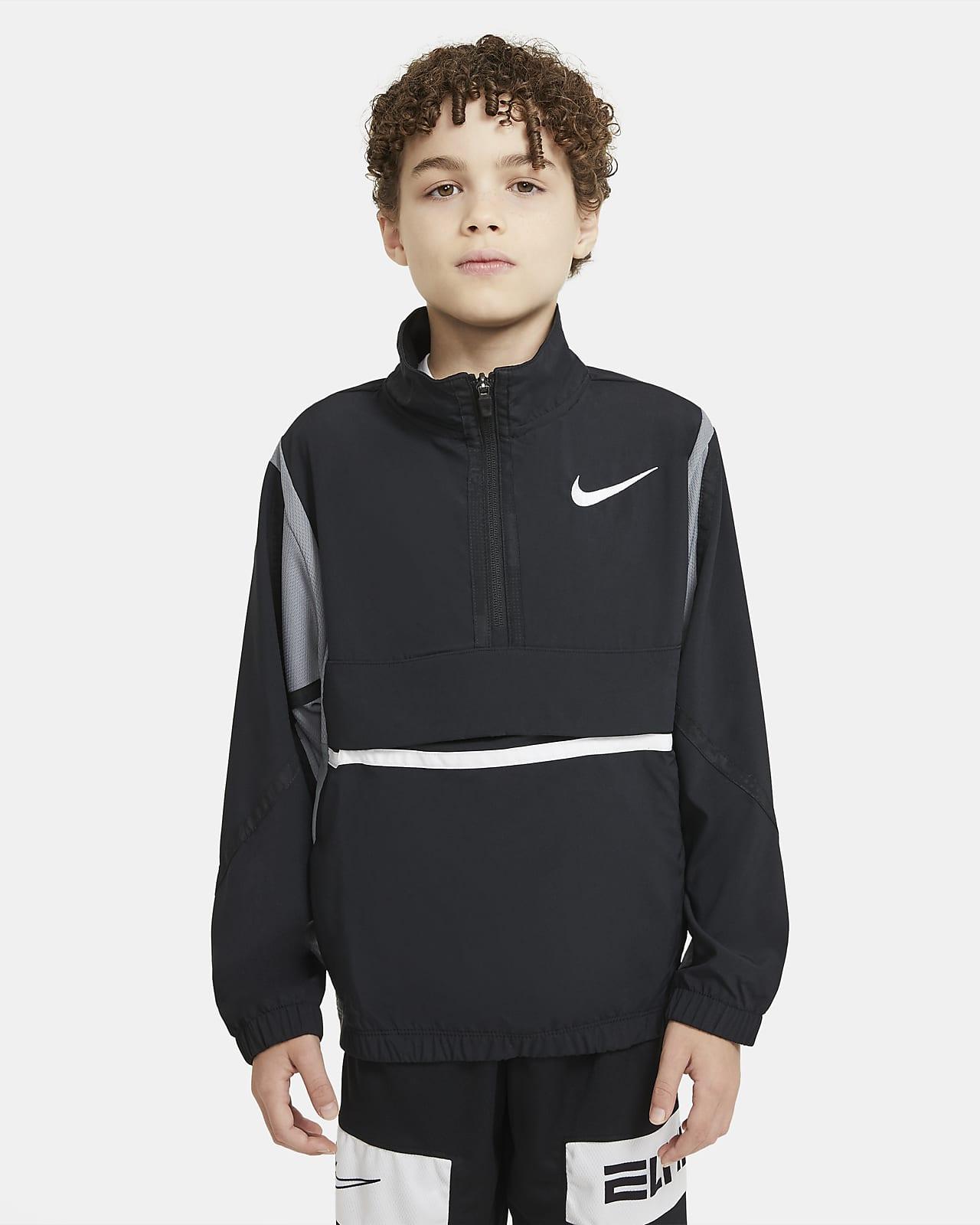 Basketbalová bunda Nike Crossover provětší děti (chlapce)