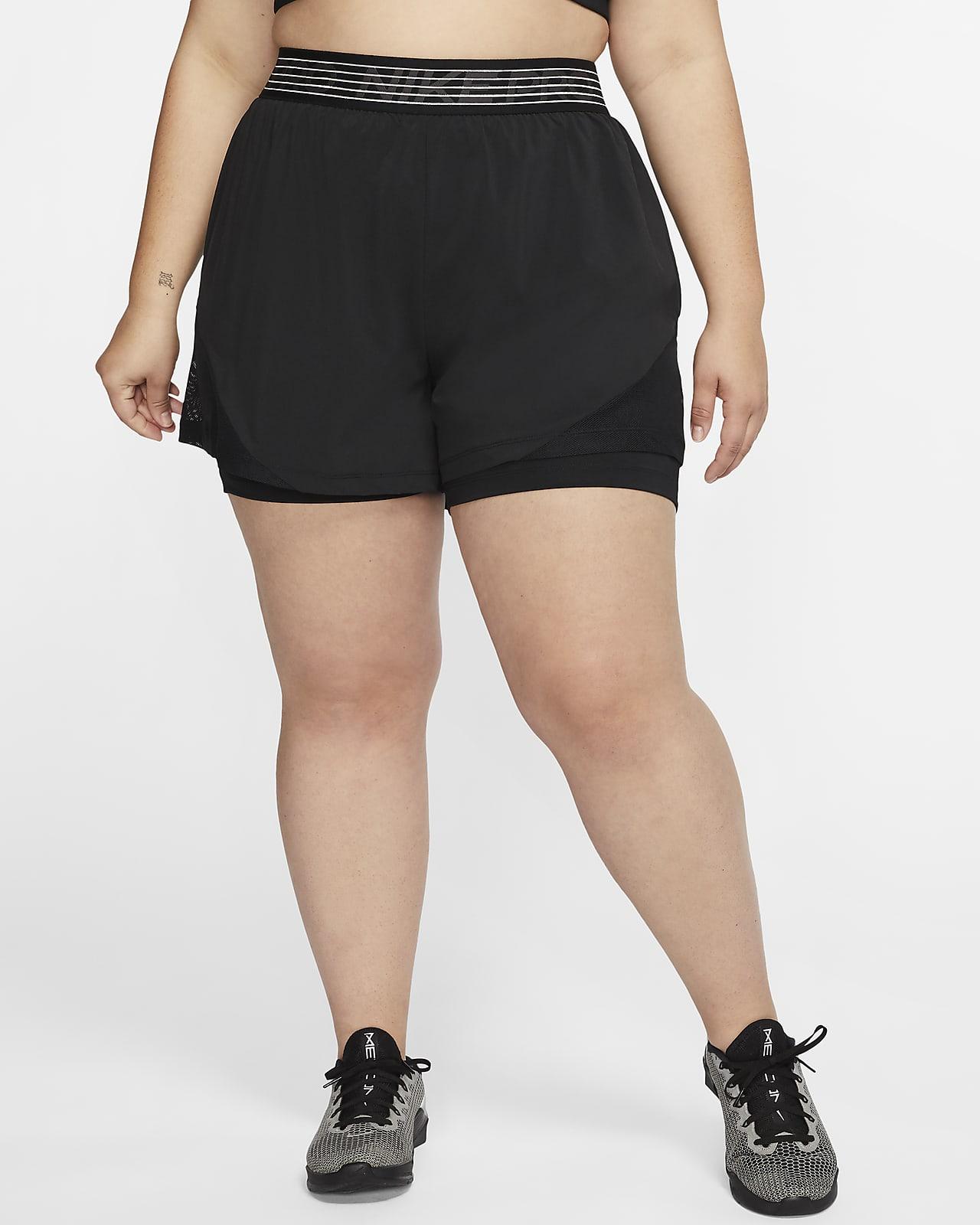 Nike Pro Flex Women's 2-in-1 Shorts (Plus Size)
