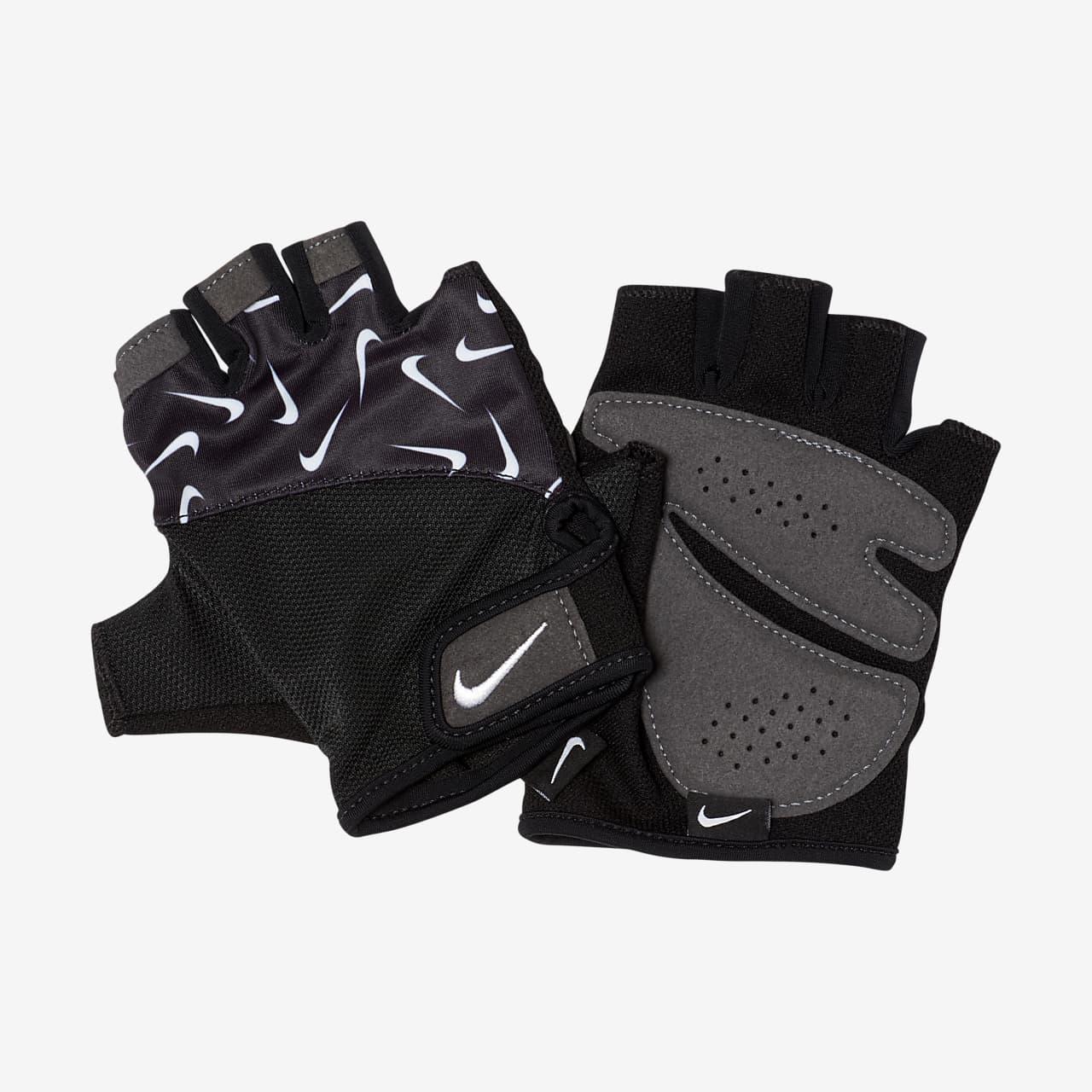Damskie rękawiczki treningowe z nadrukiem Nike Gym