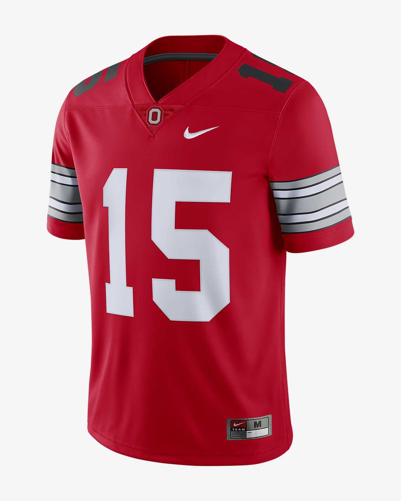 Nike College (Ohio State) (Ezekiel Elliott) Men's Limited Football Jersey