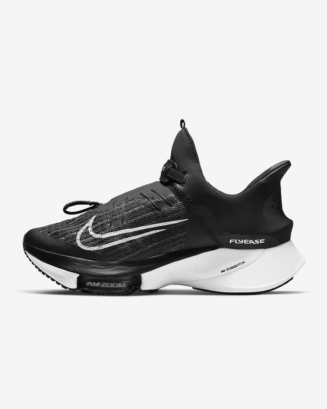 Nike Air Zoom Tempo NEXT% FlyEase Herren-Straßenlaufschuh für einfaches An- und Ausziehen
