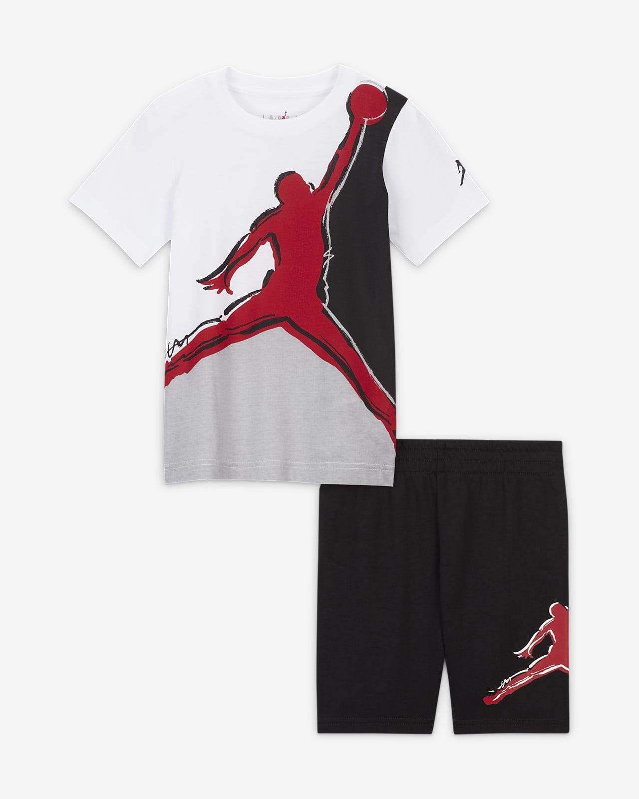 Jordan Little Kids' T-Shirt and Shorts