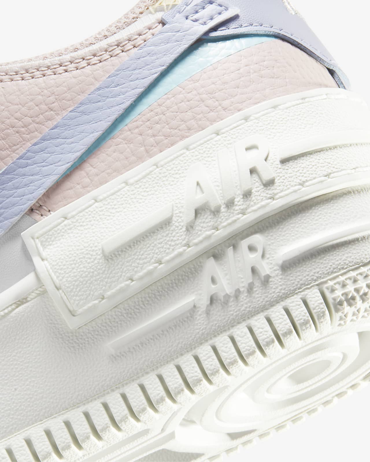 Nike Air Force 1 Shadow Women S Shoe Nike Com Summit whiteglacier bluefossilghost geslacht : nike air force 1 shadow women s shoe