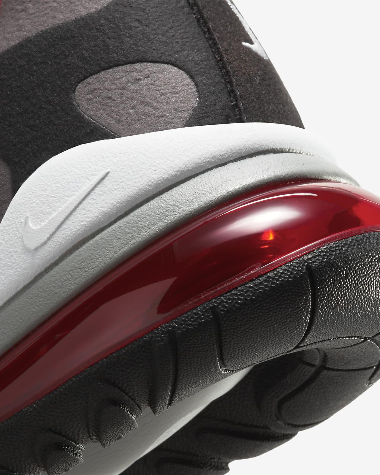 nike air max 270 gris y rojo