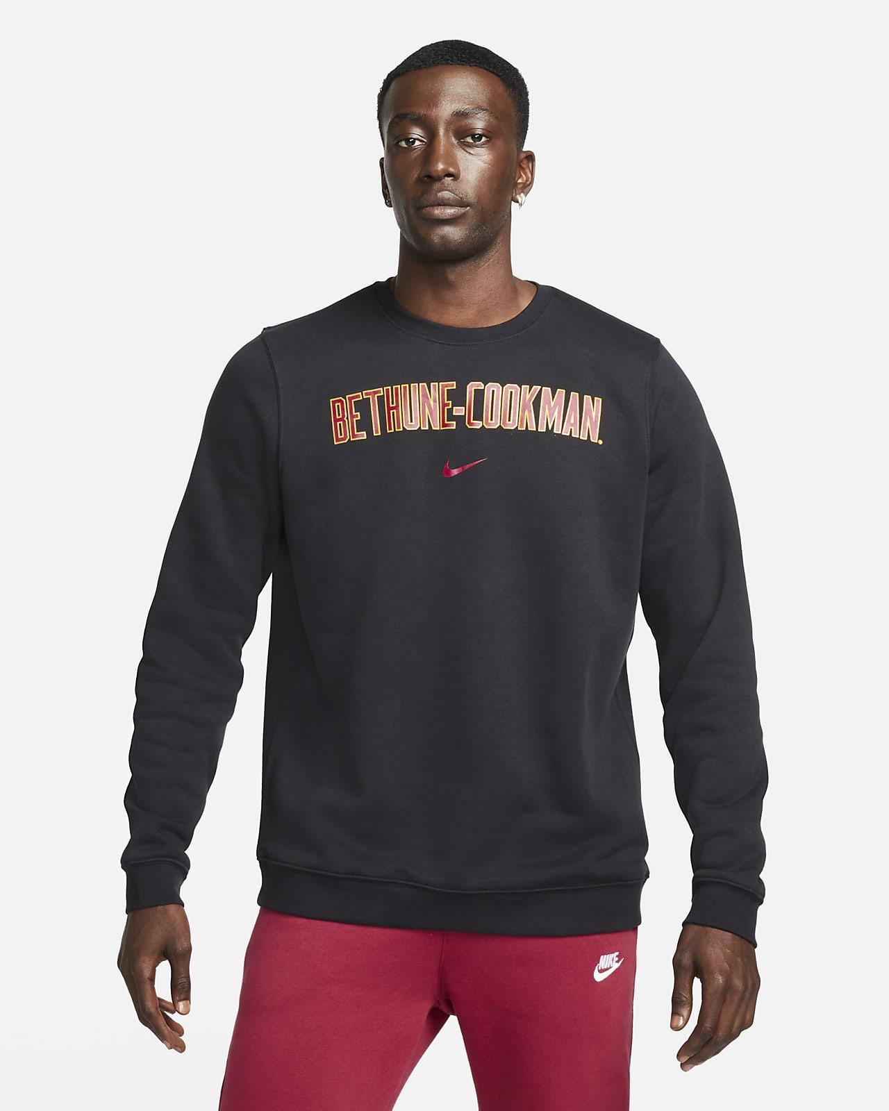 Nike College Club Fleece (Bethune-Cookman) Crew Sweatshirt