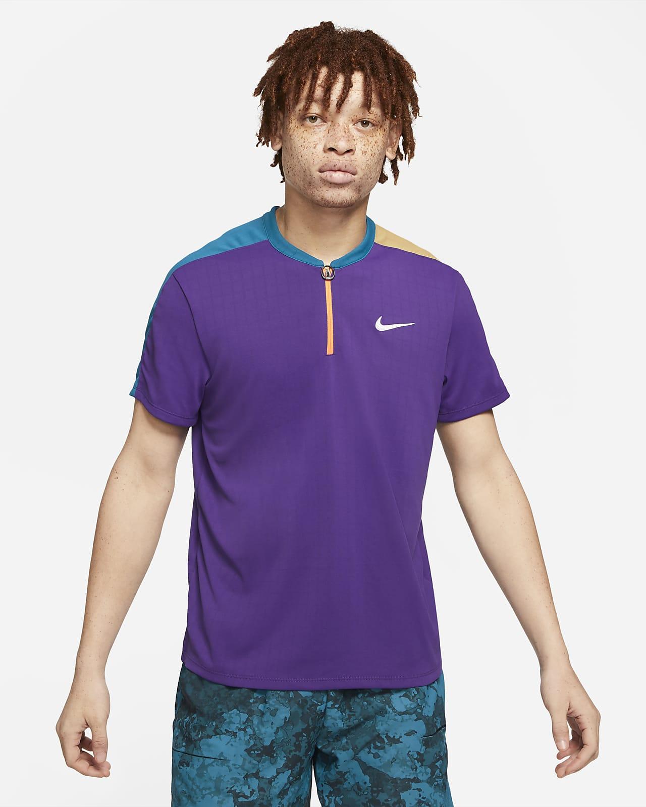 Polo da tennis NikeCourt Breathe Slam - Uomo