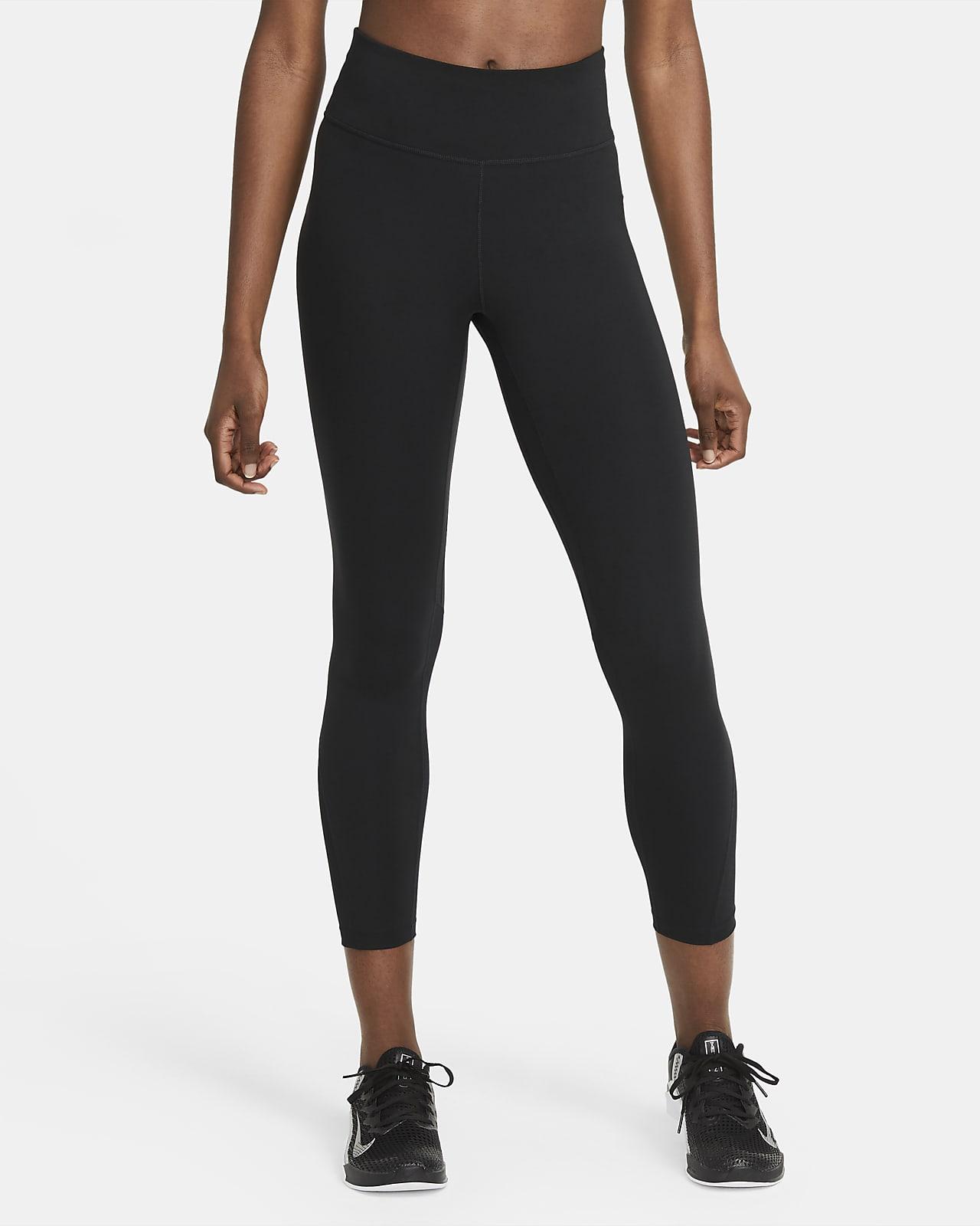 Leggings de 7/8 de tiro medio para mujer Nike One
