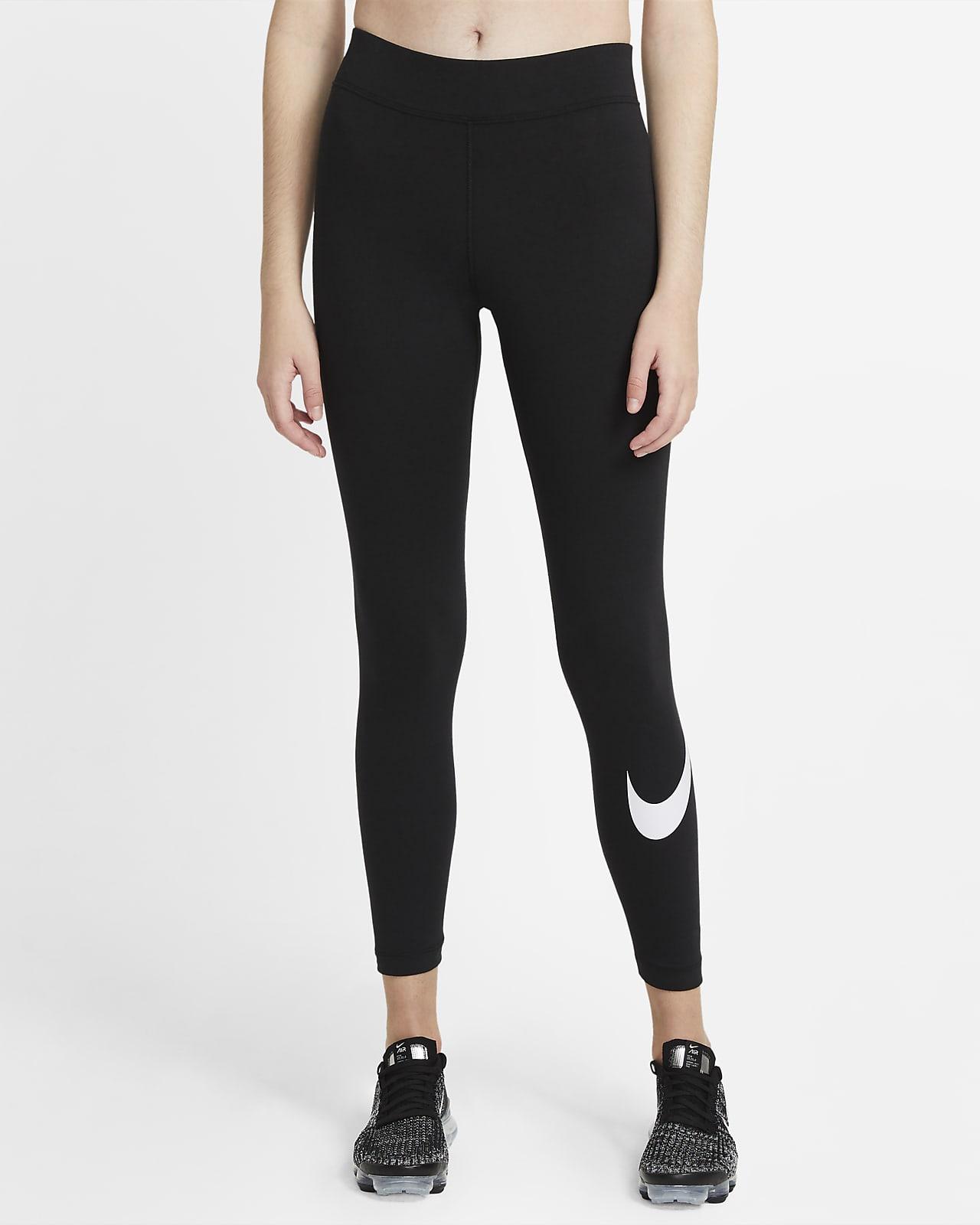 Nike Sportswear Essential Swoosh Normal Belli Kadın Taytı