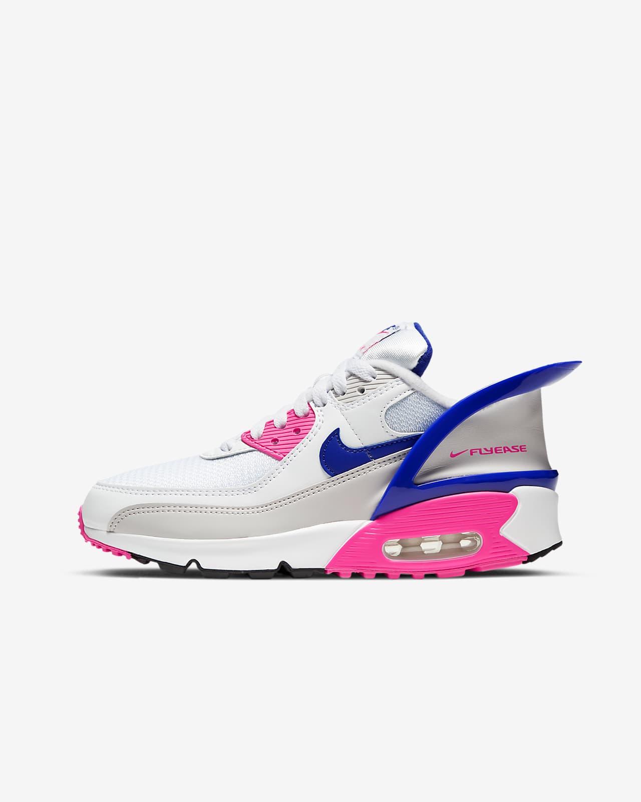 Chaussure Nike Air Max 90 FlyEase pour Enfant plus âgé. Nike LU