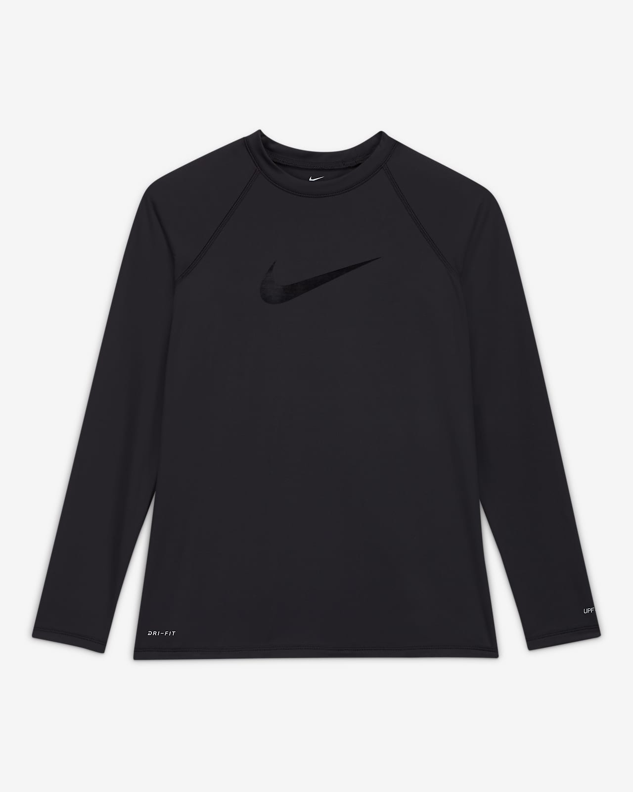 Nike Solid Logo Women's Long-Sleeve Hydroguard Swim Shirt