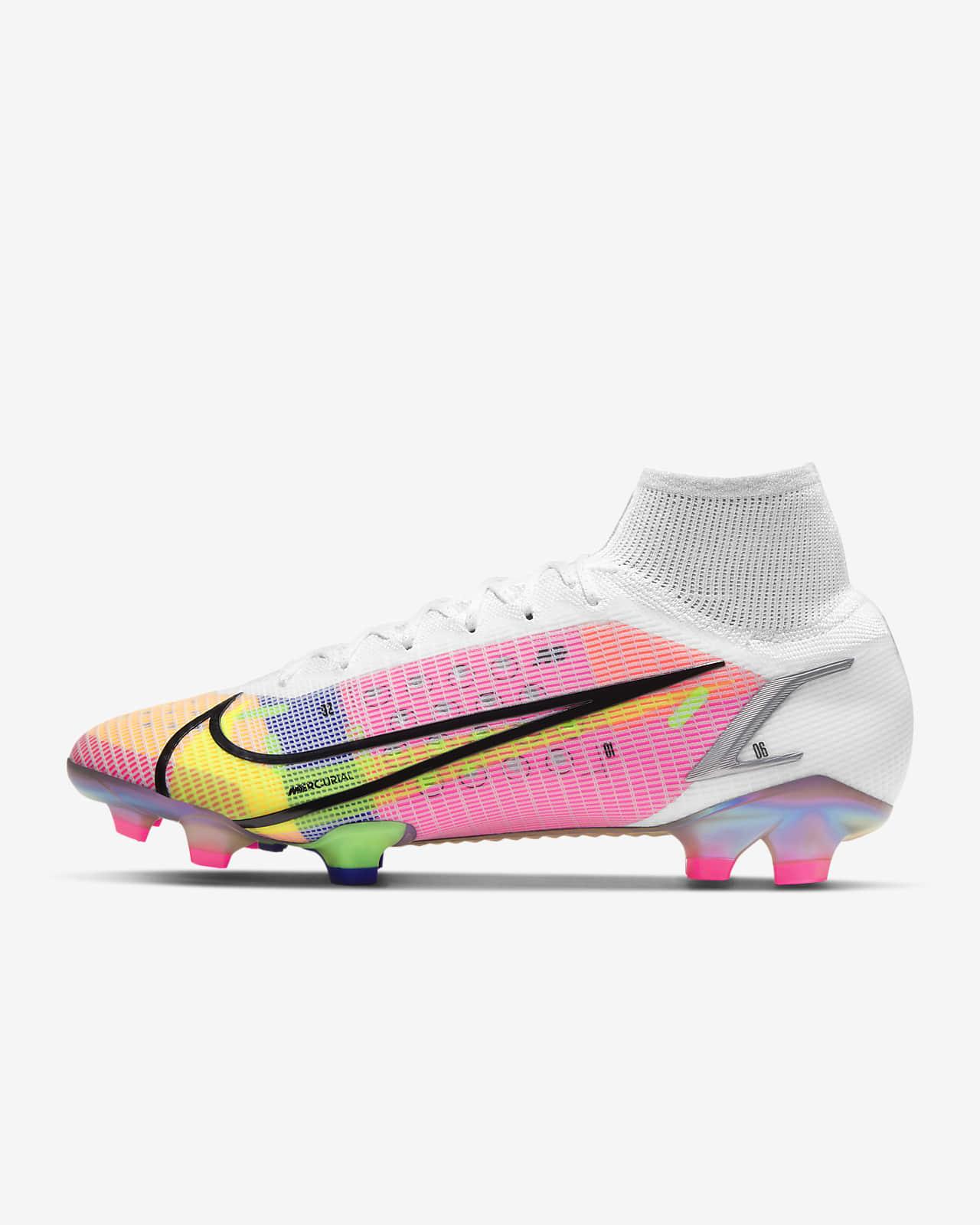 Chaussure de football à crampons pour terrain sec Nike Mercurial Superfly 8 Elite FG
