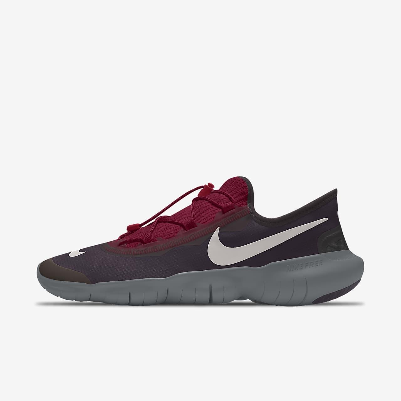 Nike Free RN 5.0 By You Custom 女子跑步鞋