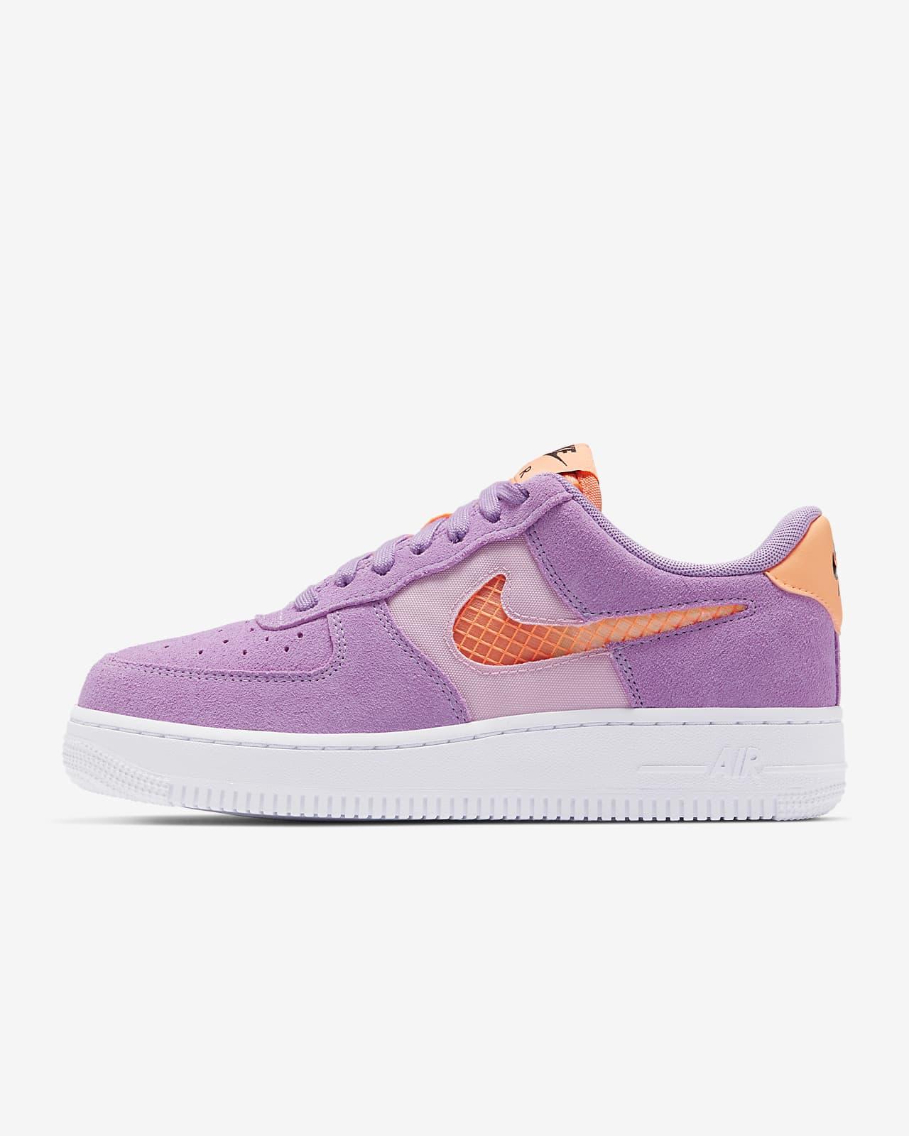 air force 1 mujer naranjas