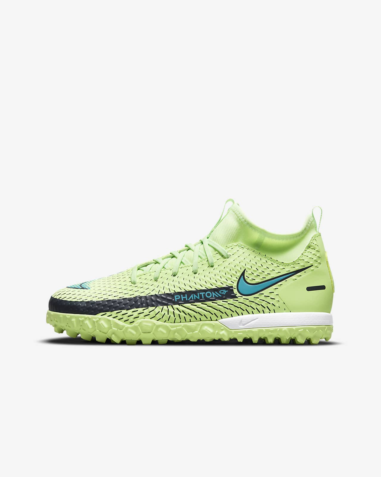 Buty piłkarskie na sztuczną nawierzchnię typu turf dla małych/dużych dzieci Nike Jr. Phantom GT Academy Dynamic Fit TF