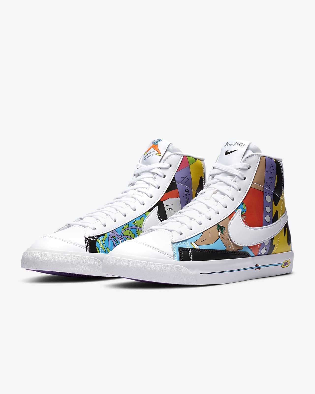 Nike Blazer '77 Flyleather Men's Shoe