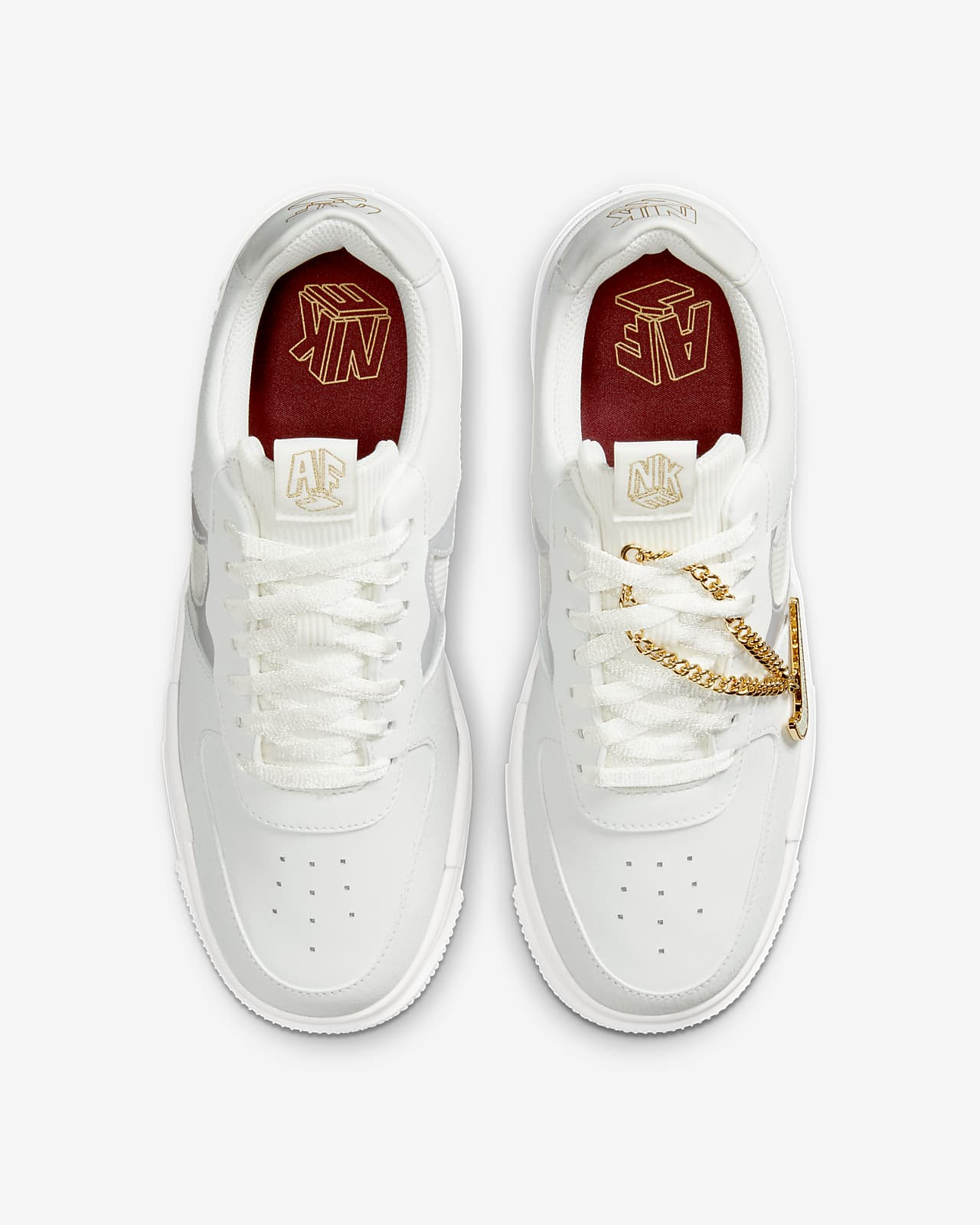air force 1 gold femme