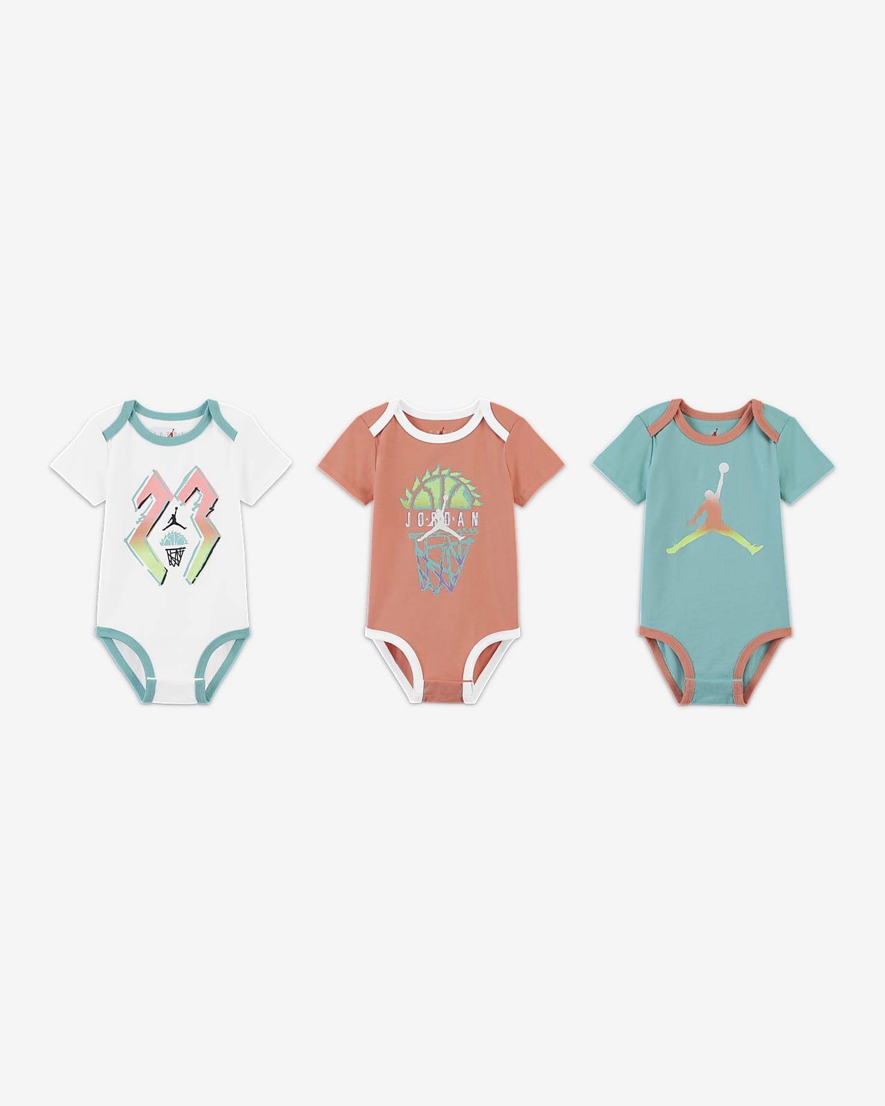 Jordan 婴童连体衣(3 件)