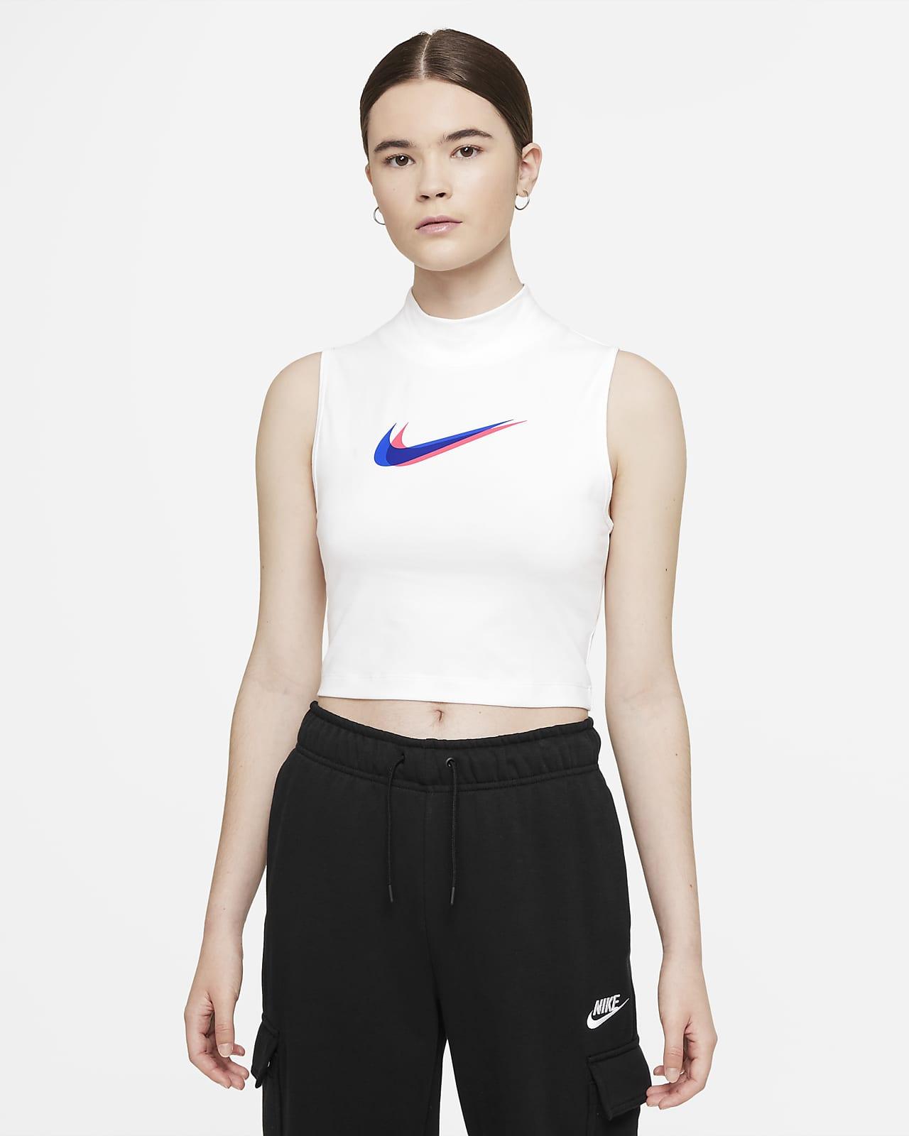 Canotta con collo a lupetto Nike Sportswear - Donna