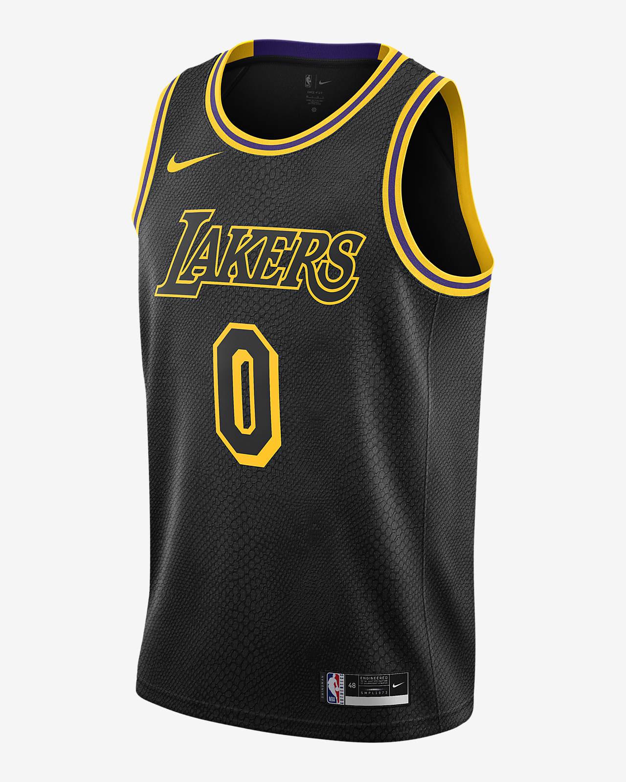Kyle Kuzma Lakers Nike NBA Swingman Jersey