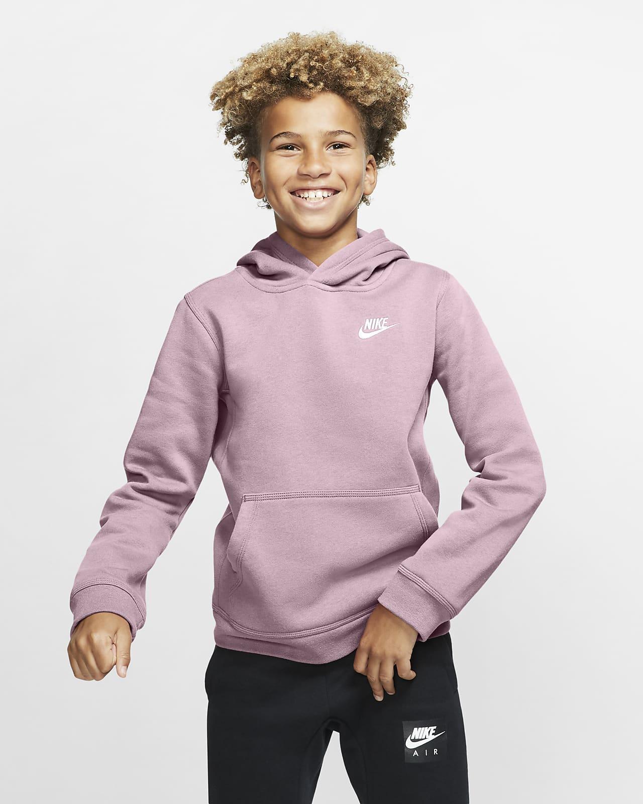 Sudadera con capucha sin cierre para niño talla grande Nike Sportswear Club