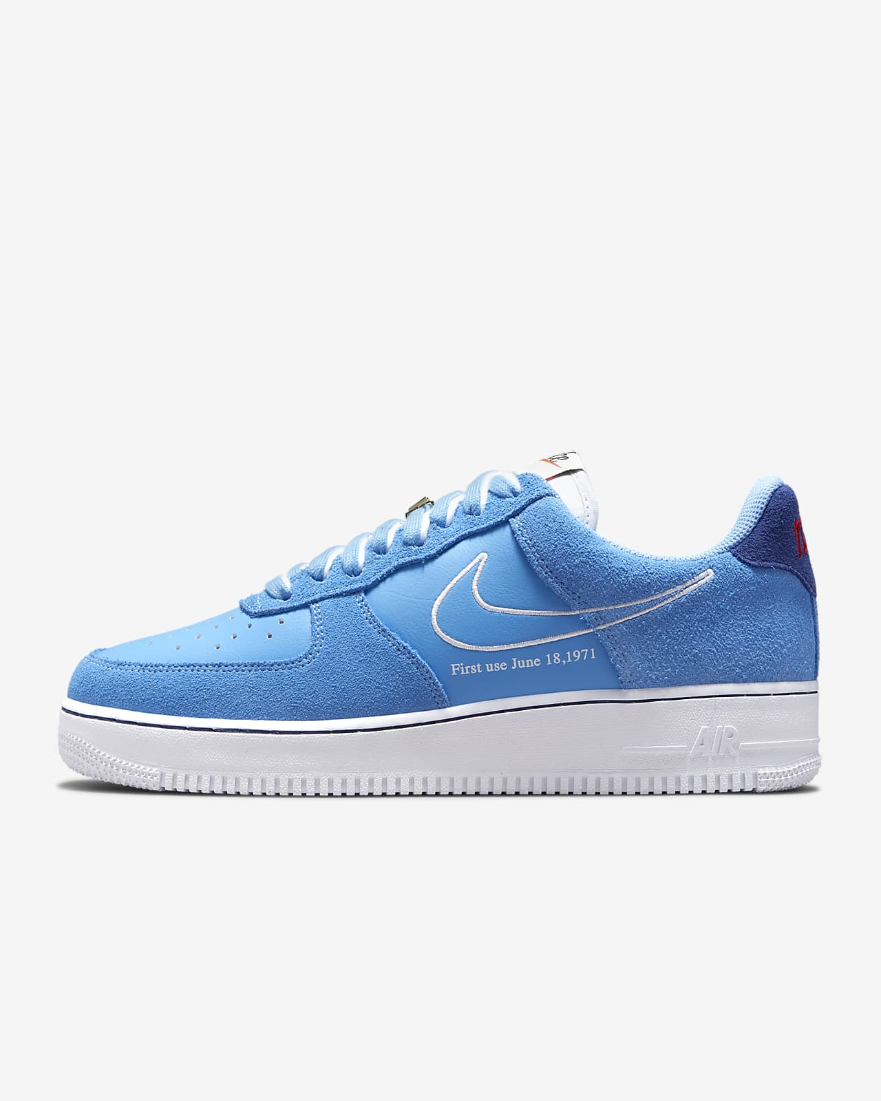 Nike Air Force 1 '07 LV8 First Use 'University Blue'