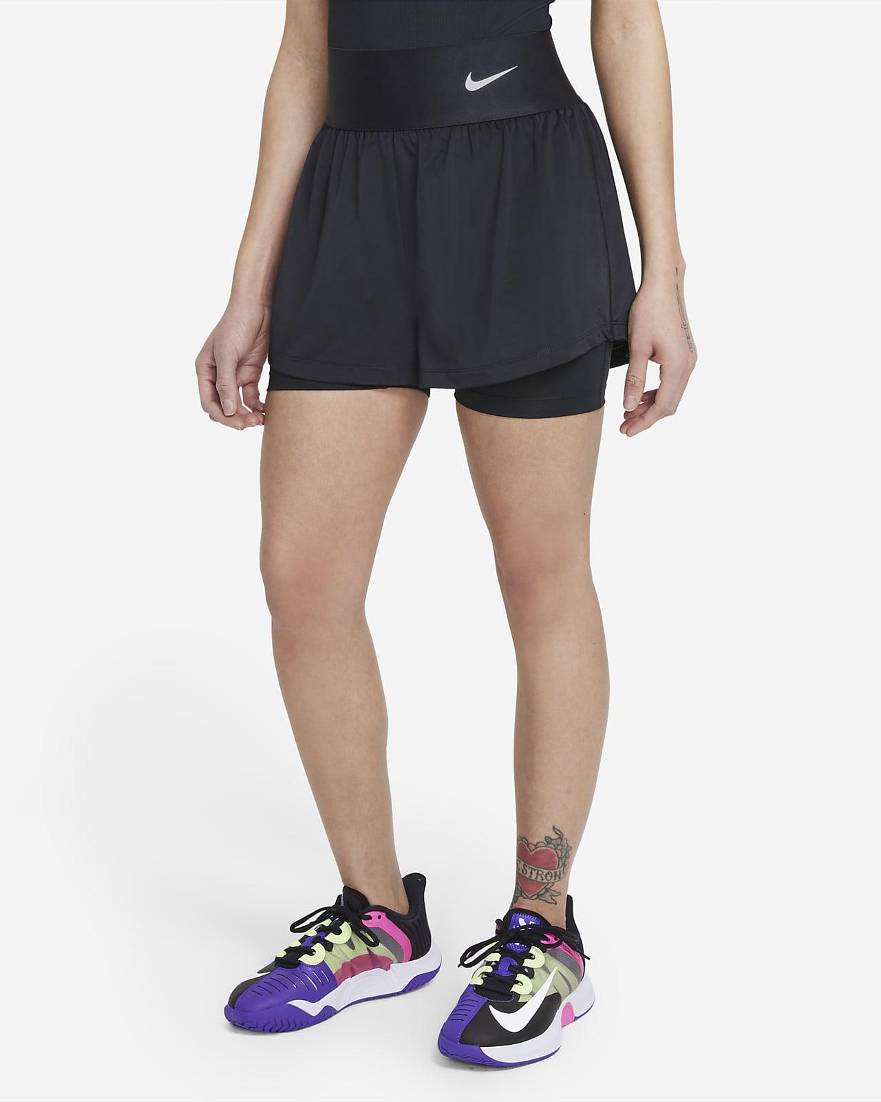 Calções de ténis NikeCourt Advantage para mulher