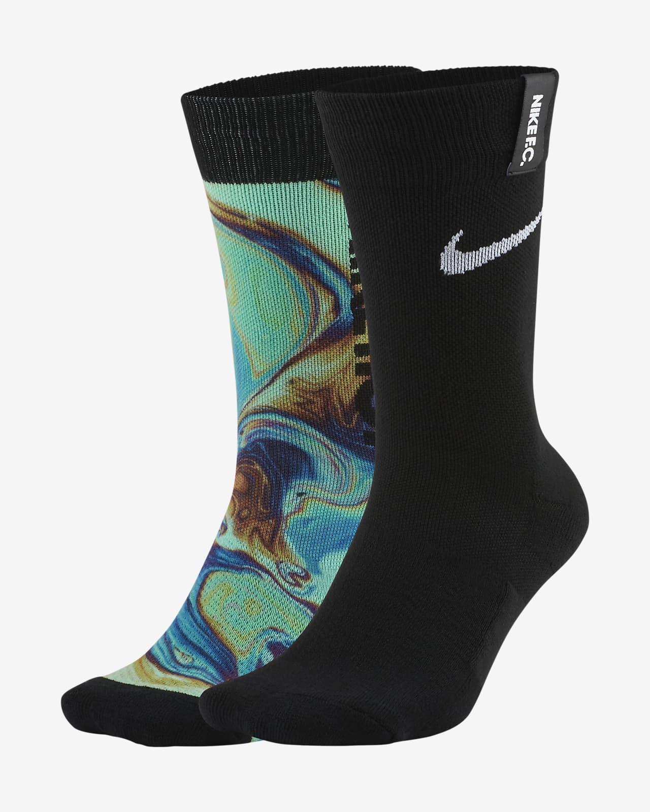 Nike F.C. SNKR Sox Essential Crew Soccer Socks