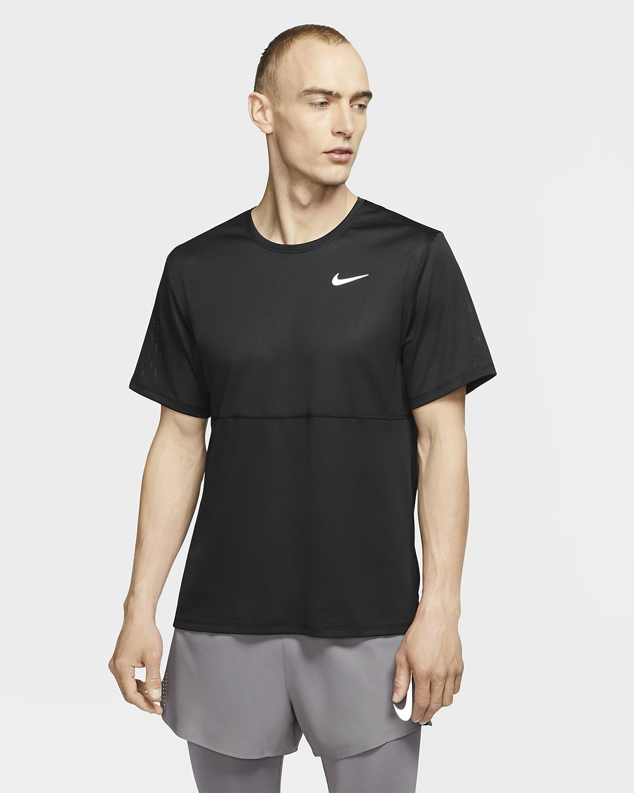 เสื้อวิ่งผู้ชาย Nike Breathe