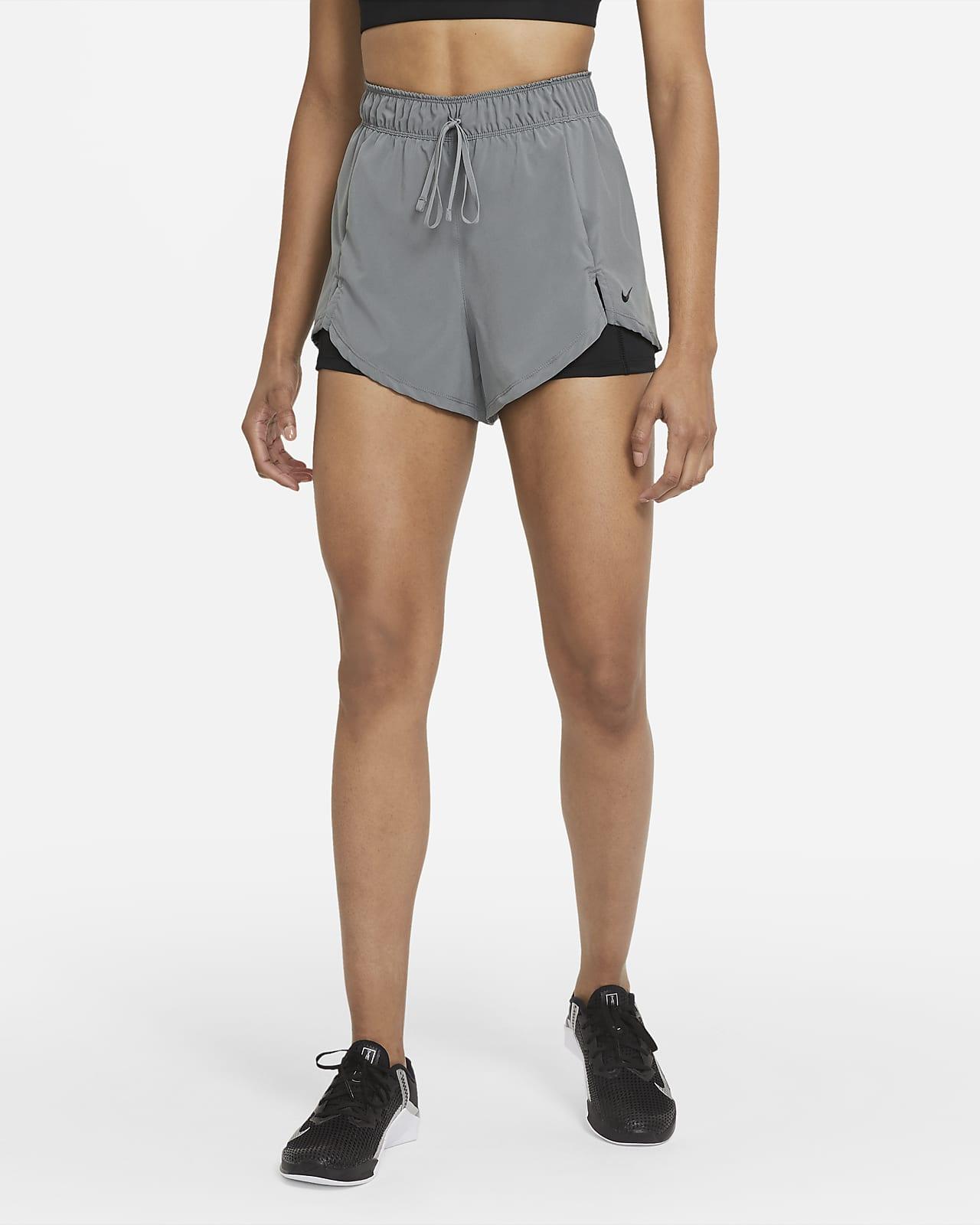 Shorts de entrenamiento para mujer Nike Flex Essential 2-in-1