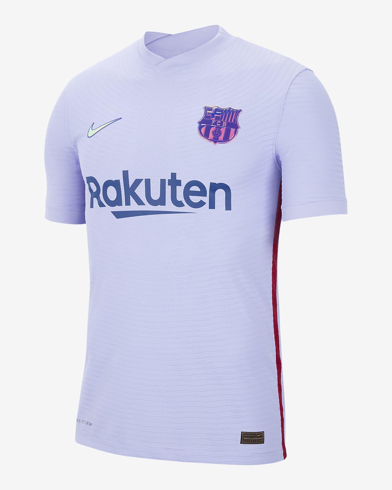 FC Barcelona 2021/22 Maç Deplasman Nike Dri-FIT ADV Erkek Futbol Forması