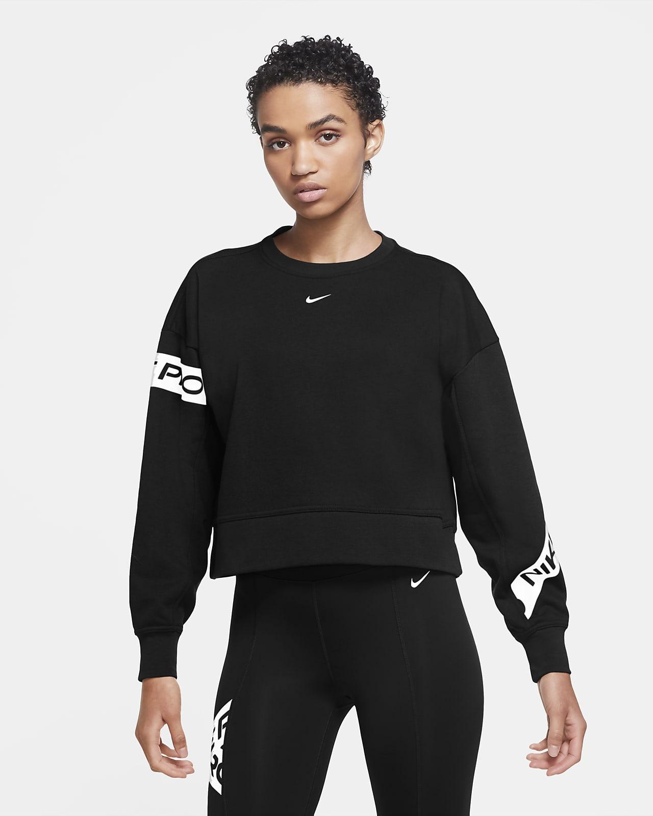 caligrafía Mono Determinar con precisión  Nike Pro Dri-FIT Get Fit Women's Training Crew. Nike SA
