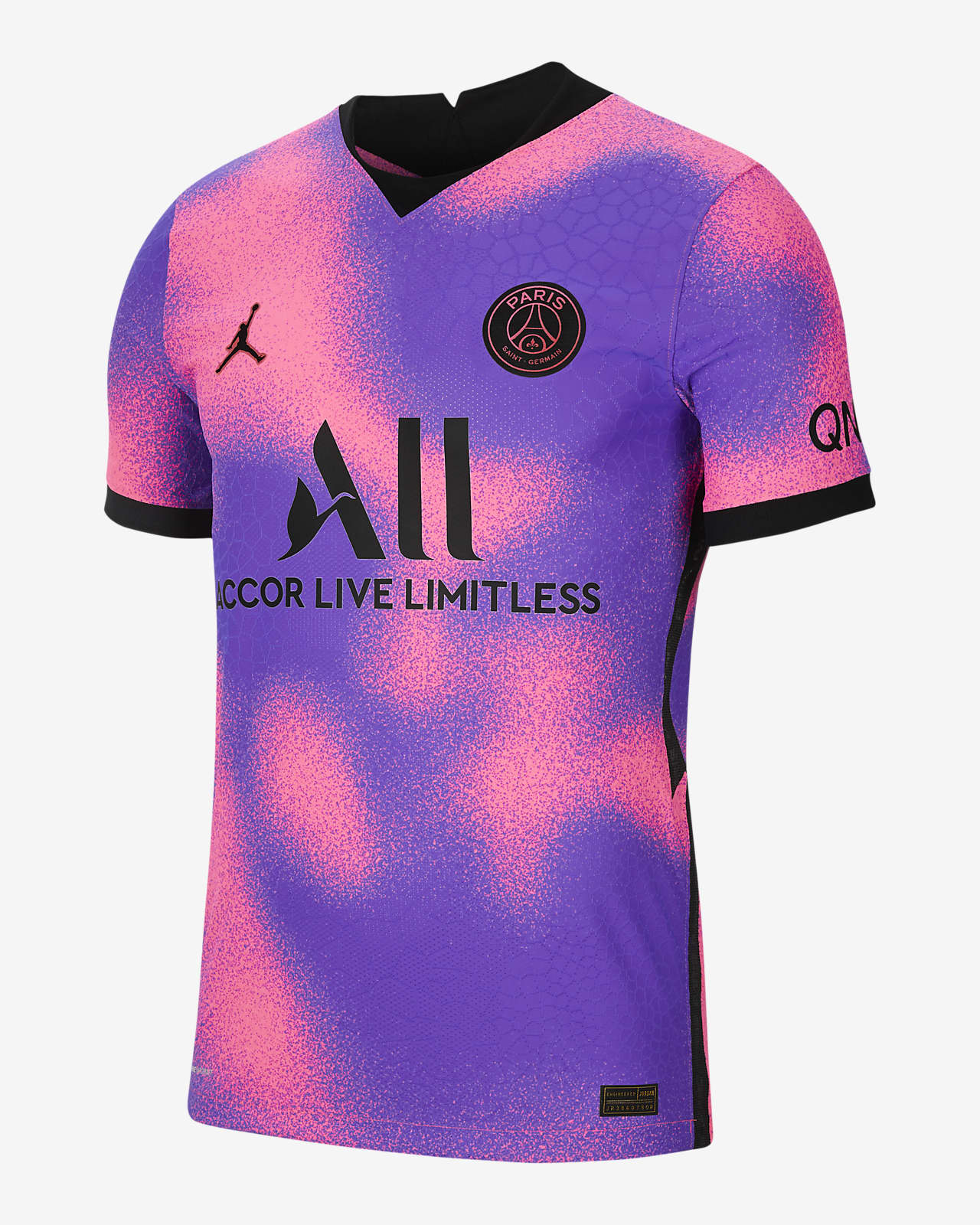 Paris Saint-Germain 2021/22 Vapor Match Fourth Herren-Fußballtrikot