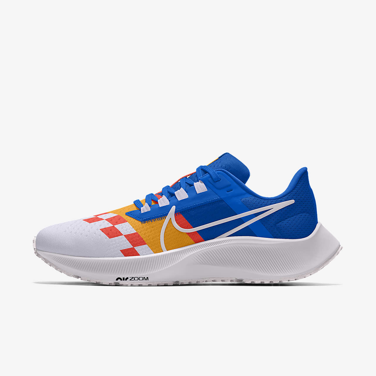 Chaussure de running personnalisable Nike Air Zoom Pegasus38 By You pour Homme