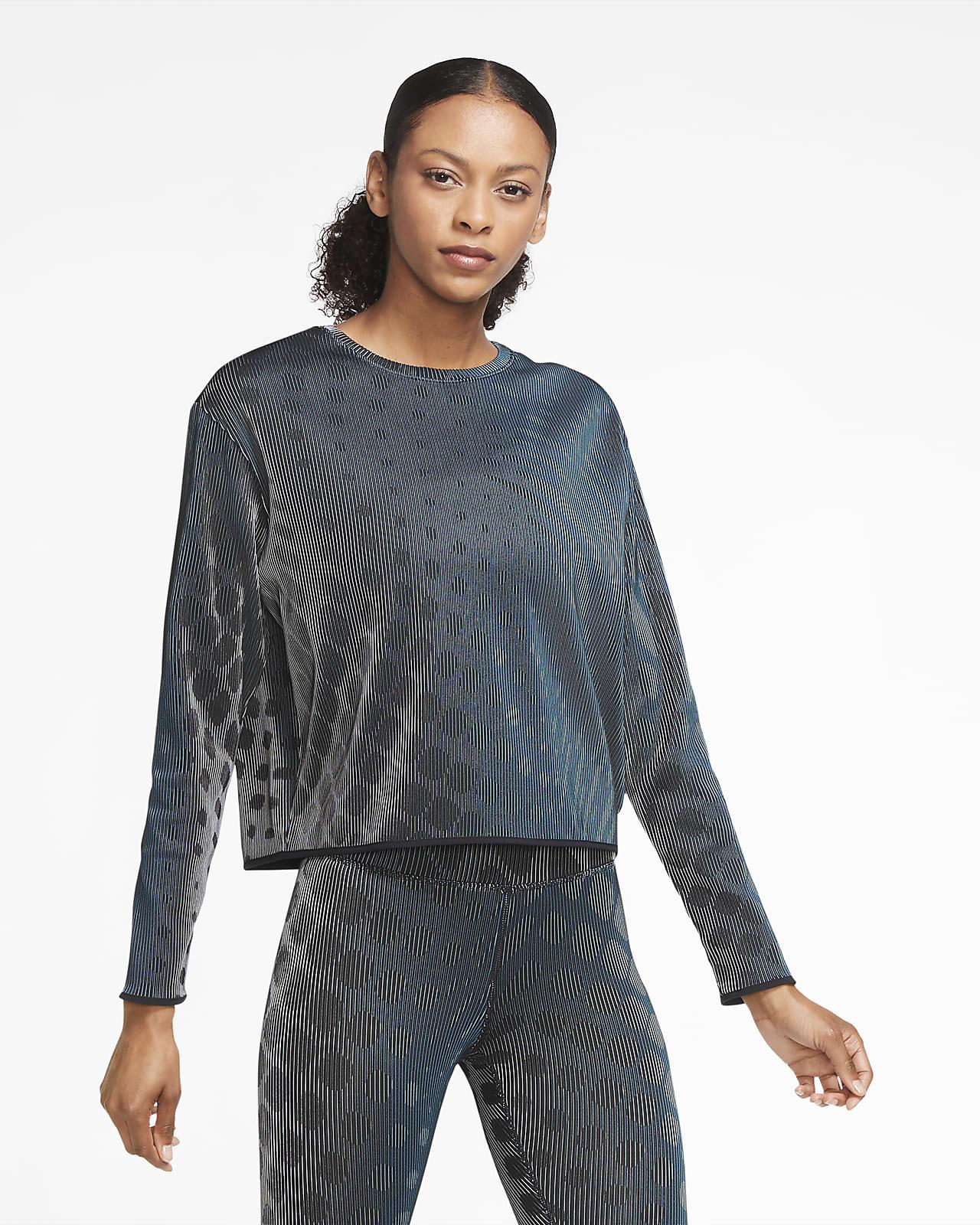 Dámské tkané běžecké tričko Nike Run Division, střední vrstva
