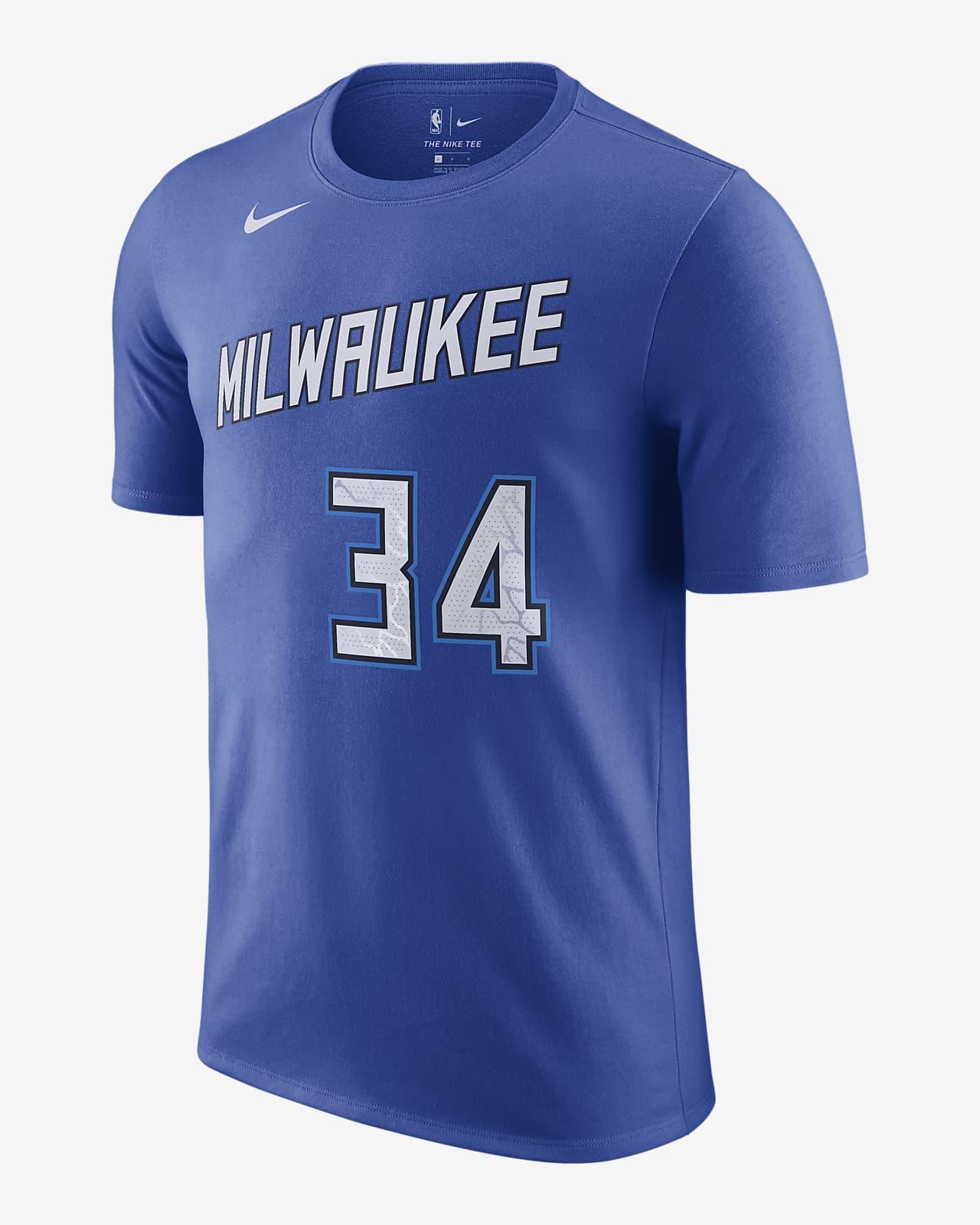 Milwaukee Bucks City Edition Men's Nike NBA T-Shirt