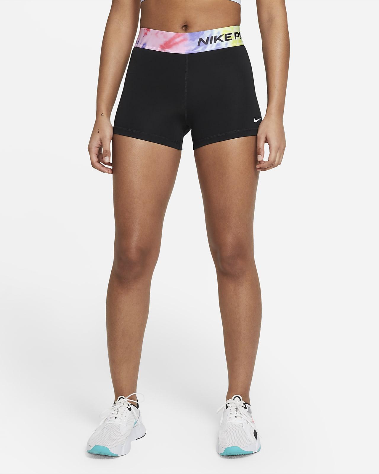Shorts teñidos de 8 cm para mujer Nike Pro